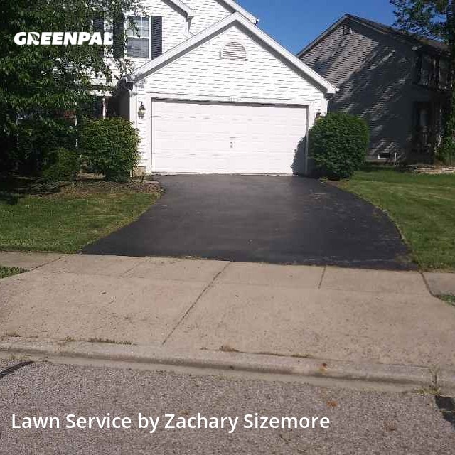 Yard Mowingin Columbus,43240,Grass Cutting by Mr Jim's Lawn Care L, work completed in Aug , 2020