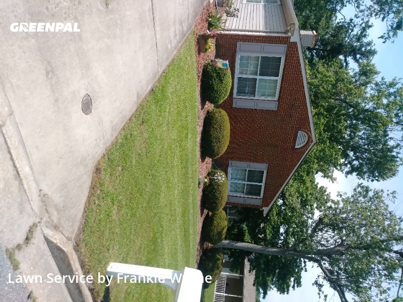 Lawn Carein Chesapeake,23320,Lawn Cutting by Handy Hands, work completed in Jul , 2020