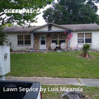 Yard Mowingin Ocoee,34761,Lawn Mow by G&W Lawn Care , work completed in Aug , 2020