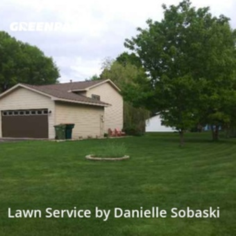 Lawn Maintenancein Minneapolis,55428,Lawn Mow by Trebeah Properties, work completed in May , 2020