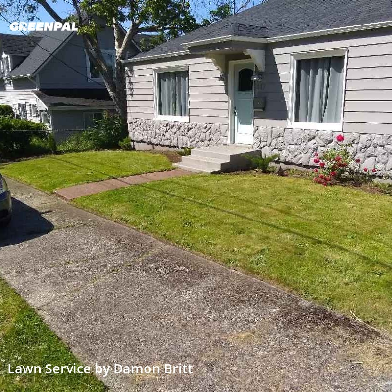 Lawn Carein Kent,98030,Lawn Cutting by A Kut Above , work completed in Aug , 2020