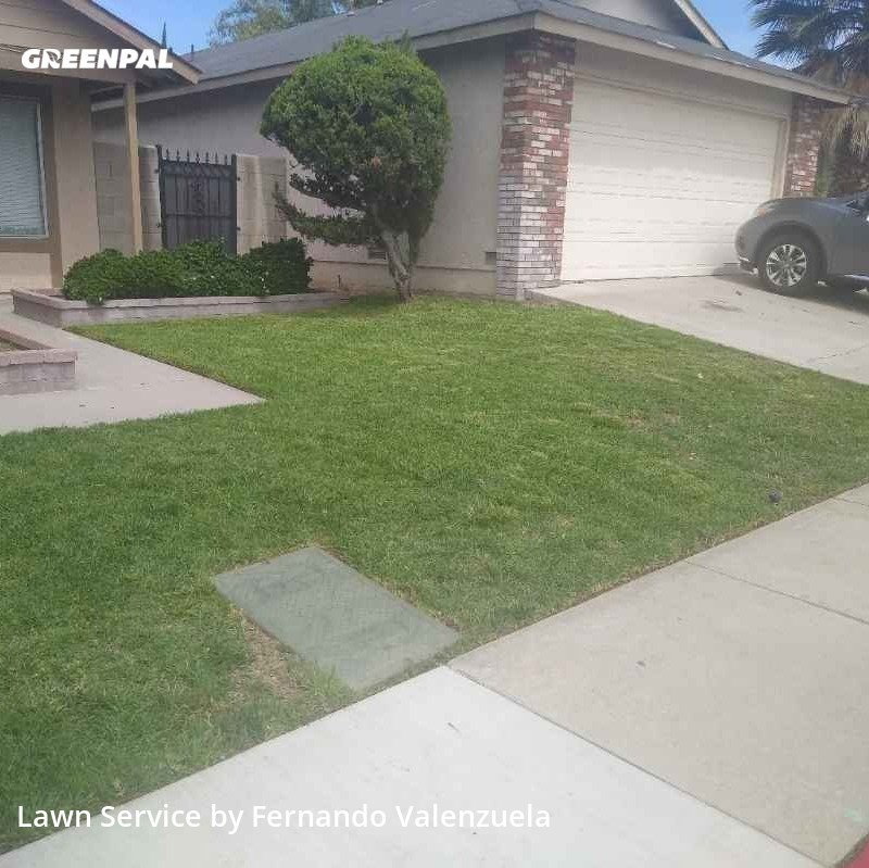 Lawn Mowingin Fontana,92335,Lawn Care Service by Cold Springs Lawn , work completed in Sep , 2020