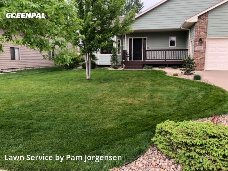 Grass Cutin Sioux Falls,57108,Lawn Cut by Jorgensen Lawns, work completed in Aug , 2020