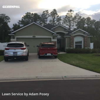 Lawn Carein Fl,32086,Lawn Mowing Service by Posey Outdoor Service, work completed in May , 2020