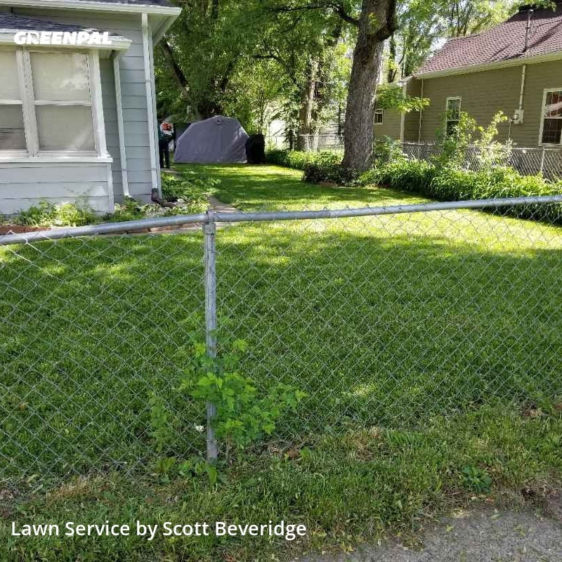 Lawn Maintenancein Des Moines,50317,Grass Cutting by Green Clips Lawn Care, work completed in Aug , 2020