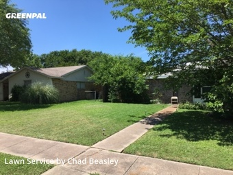 Lawn Mowin Lancaster,75134,Grass Cutting by Whit Tom Lawns, work completed in Jul , 2020