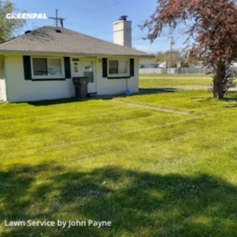 Grass Cuttingin Clinton Township,48035,Lawn Mowing by Superior Edge Llc, work completed in Jun , 2020