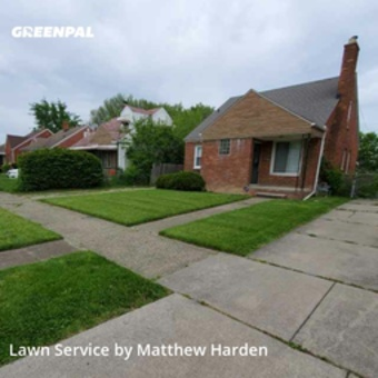 Yard Mowingin Detroit,48228,Lawn Mow by Go Cutters, work completed in May , 2020