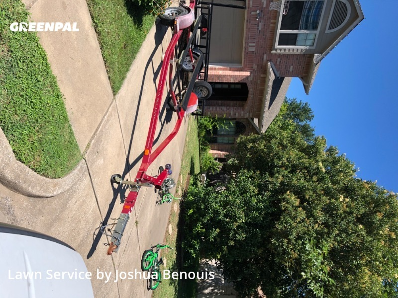 Grass Cutin Leander,78641,Lawn Mow by Uppercuts Lawn Care, work completed in Jul , 2020