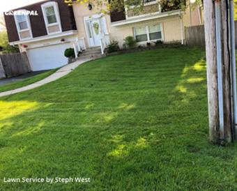 Lawn Cuttingin Palatine,60067,Yard Mowing by Fatherandsonhandyman, work completed in Sep , 2020