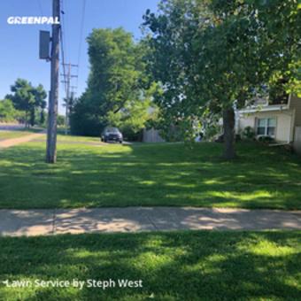 Yard Mowingin Palatine,60067,Lawn Mow by Fatherandsonhandyman, work completed in Jul , 2020