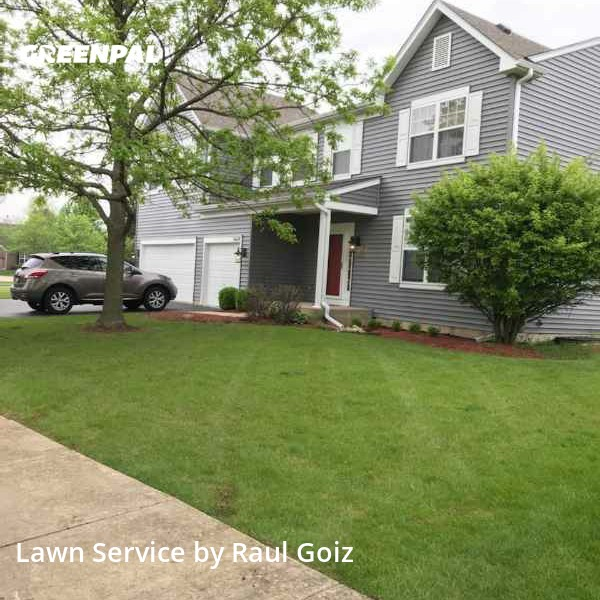Lawn Carein Aurora,60503,Lawn Cutting by Goiz Lawn Care, work completed in Sep , 2020