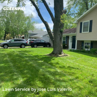 Yard Cuttingin Bolingbrook,60440,Lawn Care Service by Valerio's Landscaping, work completed in Sep , 2020