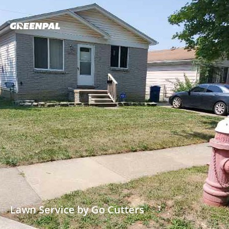 Lawn Mowing Servicein Warren,48089,Yard Cutting by Go Cutters, work completed in Sep , 2020