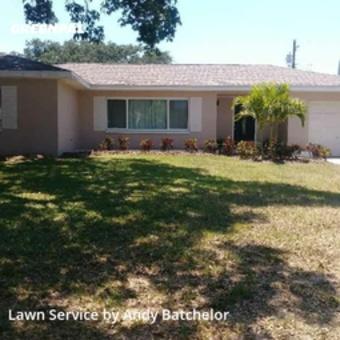 Lawn Cuttingin Clearwater,33765,Grass Cutting by Andy's Quality Lawn Care, work completed in May , 2020