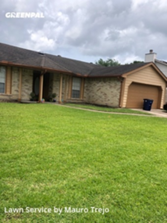 Lawn Mowing Servicein League City,77573,Grass Cutting by M&A Lawn, work completed in Jul , 2020