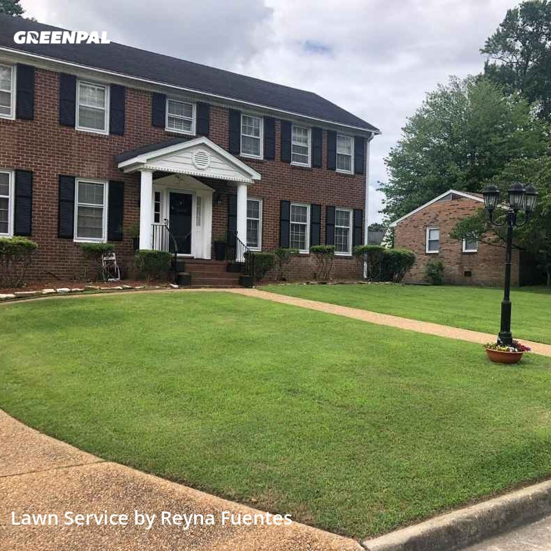 Lawn Carein Newport News,23602,Grass Cut by J&R Lawn And Landsca, work completed in Sep , 2020