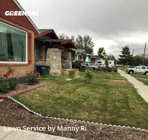 Lawn Maintenancein Salt Lake City,84116,Lawn Care Service by Sunny Side Mowe, work completed in Aug , 2020