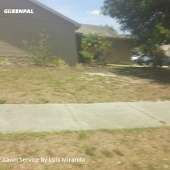 Yard Mowingin Oviedo,32765,Lawn Mowing by G&W Lawn Care , work completed in May , 2020