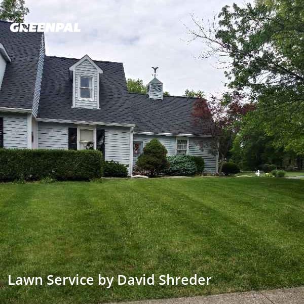 Lawn Mowin Carmel,46033,Yard Cutting by Shredz Mowing & Handy, work completed in Jul , 2020