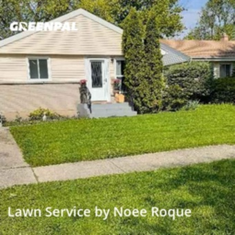 Lawn Servicein Des Plaines,60018,Grass Cutting by Roque Landscaping , work completed in Sep , 2020