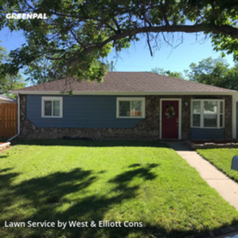 Lawn Mowing Servicein Aurora,80011,Yard Mowing by West & Elliott Cons, work completed in Jul , 2020