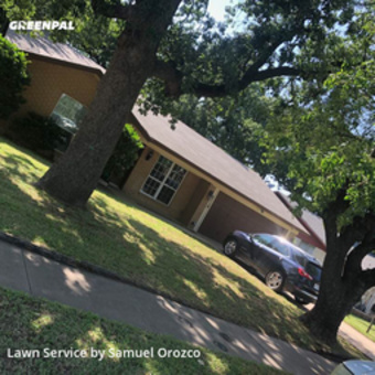 Lawn Maintenancein Irving,75061,Yard Mowing by H H Lawn Srvc, work completed in May , 2020