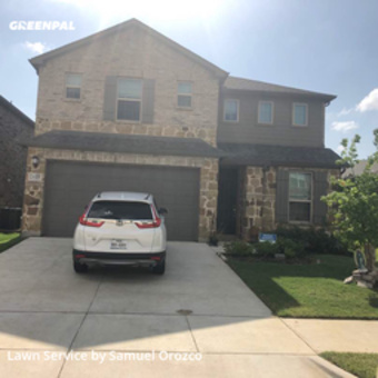 Lawn Care Servicein Irving,75062,Lawn Care Service by H H Lawn Srvc, work completed in Aug , 2020