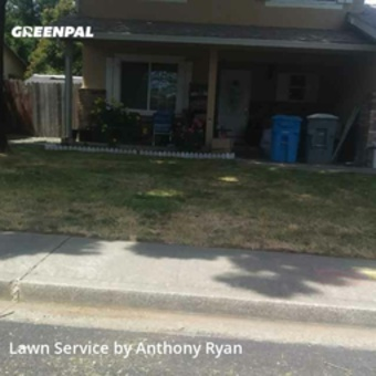 Lawn Mowingin Vacaville,95687,Lawn Cut by Ace Residential Llc, work completed in May , 2020