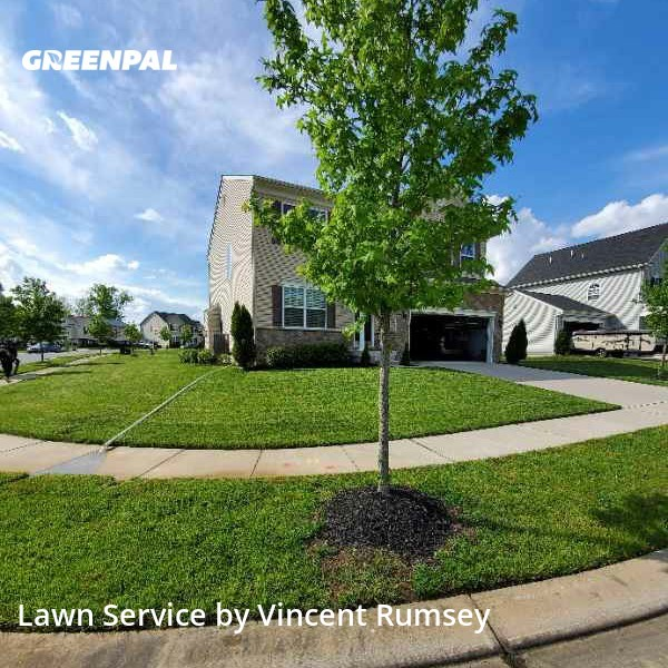 Lawn Maintenancein Middle River,21220,Lawn Cut by Precision Lawn Care , work completed in Aug , 2020