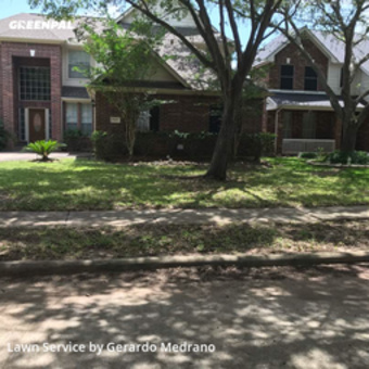 Lawn Servicein Sugar Land,77479,Lawn Care by Gm Landscaping Llc, work completed in May , 2020