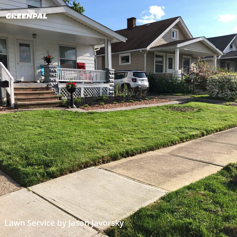 Lawn Servicein Parma,44134,Lawn Cut by All Seasons Mowand Snow, work completed in Sep , 2020