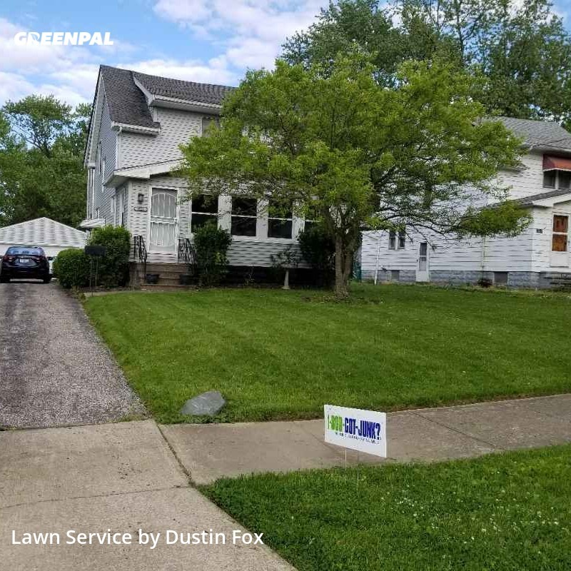 Lawn Maintenancein Maple Heights,44137,Grass Cutting by Lawntopia , work completed in Jul , 2020