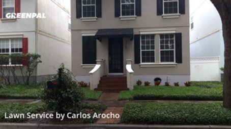 Lawn Carein Orlando,32803,Lawn Mowing Service by Arocho Landscaping , work completed in May , 2020