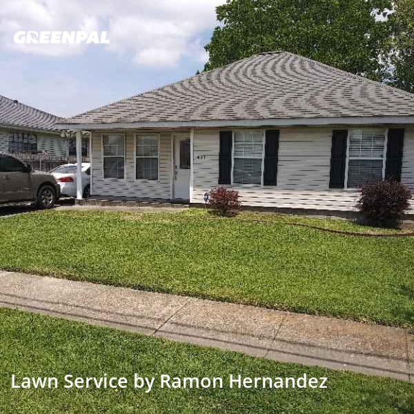 Lawn Servicein Marrero,70072,Lawn Cutting by Images Lawn Care, work completed in Aug , 2020