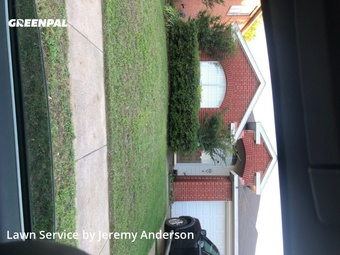 Lawn Carein Saginaw,76131,Lawn Mow by Jer's Lawn Care, work completed in Jul , 2020