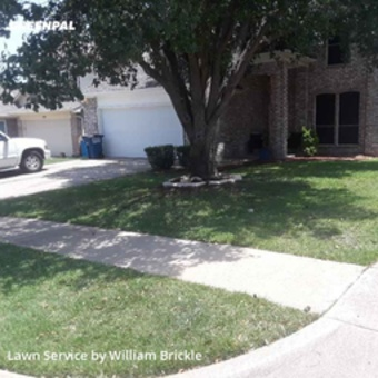 Lawn Cutin Keller,76248,Lawn Mowing by Brixx Lawn Care, work completed in Jul , 2020