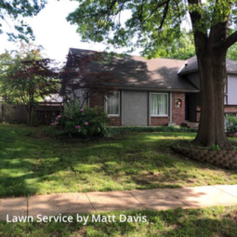 Yard Mowingin Olathe,66062,Lawn Maintenance by Mid Western Lawn Care, work completed in May , 2020