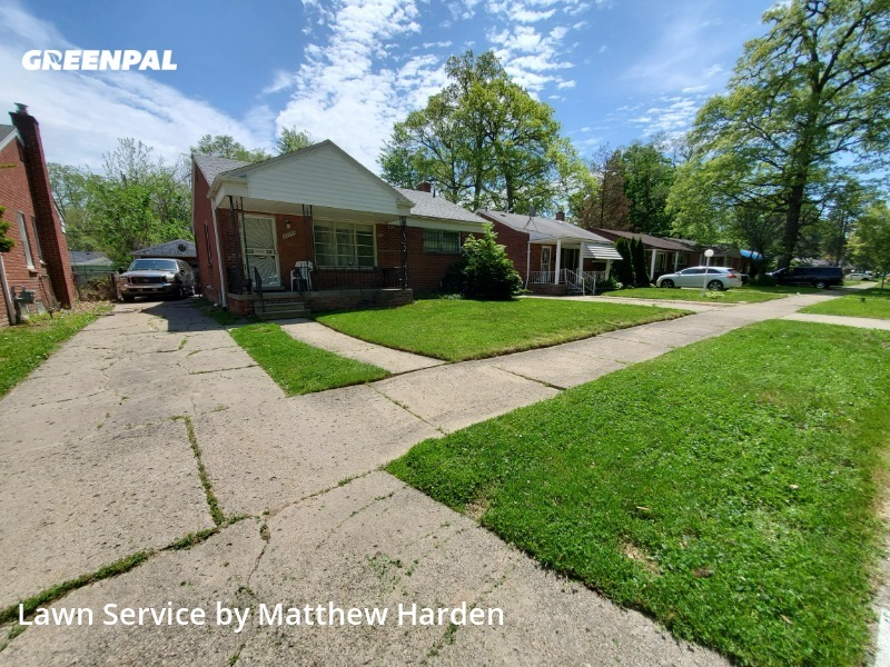 Yard Mowingin Detroit,48219,Lawn Care by Go Cutters, work completed in Aug , 2020