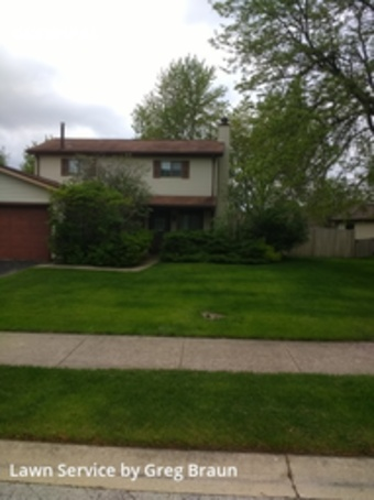 Lawn Care Servicein Aurora,60504,Lawn Mowing Service by Braun's Lawn Care, work completed in Jul , 2020
