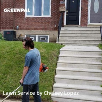 Yard Cuttingin Philadelphia,19138,Lawn Mowing Service by Revive Lawn Care, work completed in May , 2020