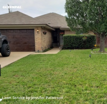 Grass Cuttingin Keller,76248,Lawn Maintenance by Jenni's Green Team, work completed in Oct , 2020