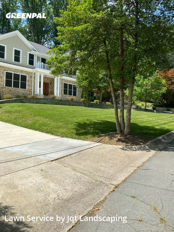 Lawn Mowing Servicein Bethesda,20817,Lawn Mowing Service by Jqt Landscaping, work completed in Jul , 2020
