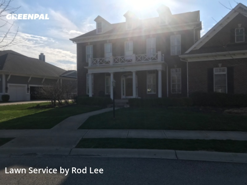 Lawn Mowingin Carmel,46033,Lawn Service by Lawn Care Plus, work completed in Jul , 2020