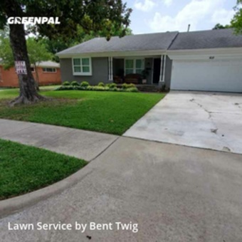 Lawn Mowingin Garland,75041,Lawn Care by Bent Twig, work completed in Jul , 2020