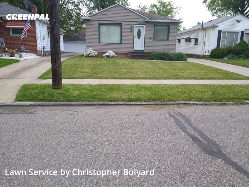 Lawn Mowingin Parma,44134,Lawn Cutting by B&B Trading Post Llc, work completed in Jul , 2020