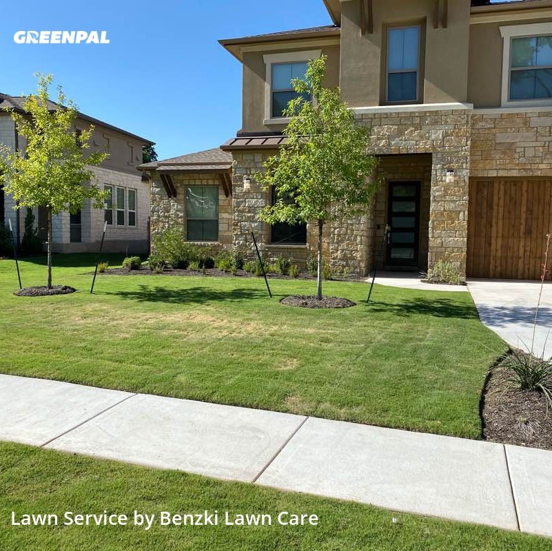 Lawn Cuttingin Cedar Park,78613,Lawn Mow by Benzki Lawn Care, work completed in Sep , 2020