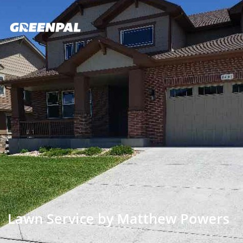 Lawn Mowingin Arvada,80007,Lawn Mowing Service by Powers Services, work completed in Aug , 2020