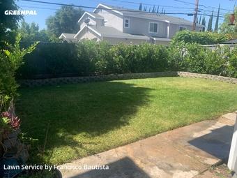 Yard Cuttingin Pasadena,91107,Yard Cutting by Bautista Landscape, work completed in Aug , 2020