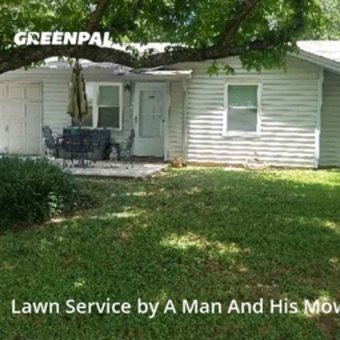 Grass Cuttingin Euless,76039,Lawn Mowing Service by A Man And His Mower , work completed in Jul , 2020